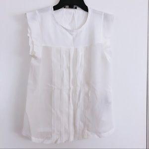 MaxMara white insert top
